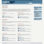 Screenshot: Downloads - phpBB Pakete