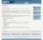 Screenshot: Die phpBB-Tour