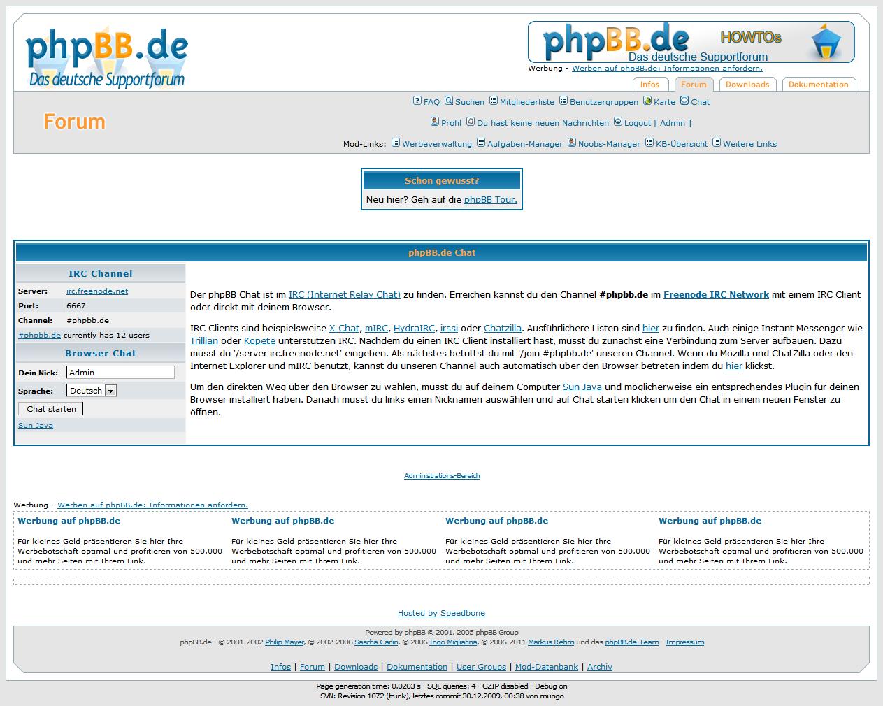 Rasiert von phpbb